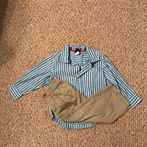 Other - Boy's 3T set - GAP shirt/Tommy Hilfiger pants